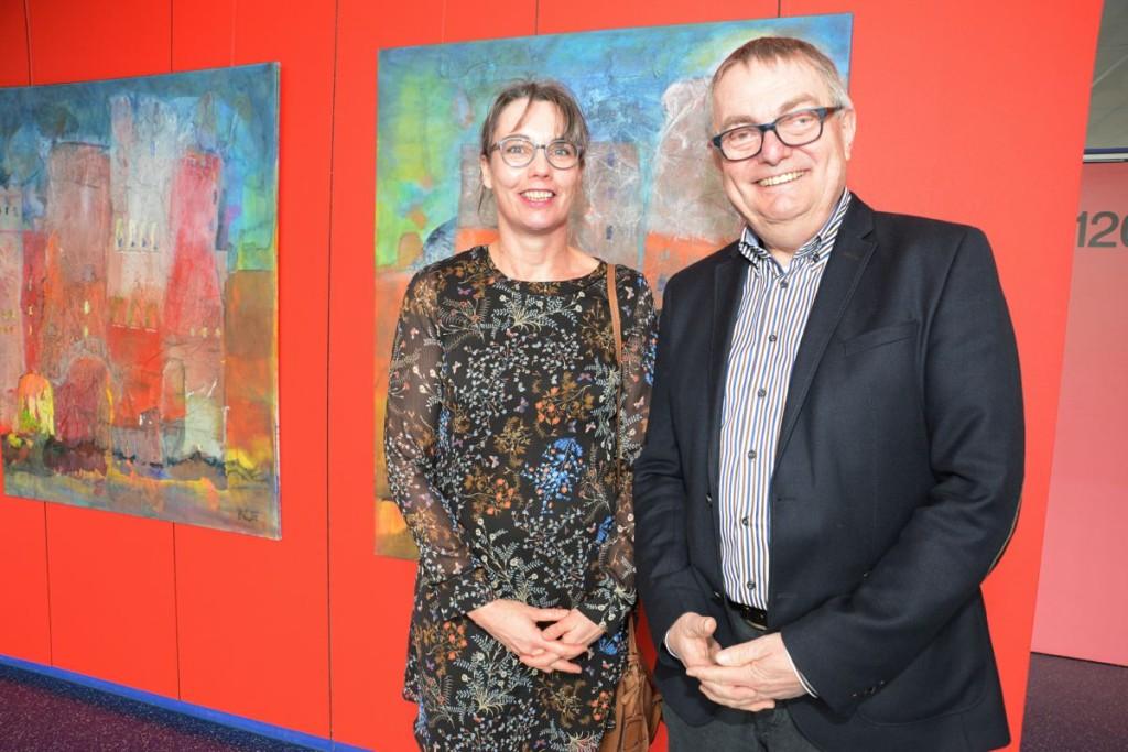 GSW Kunstausstellung Stüwe Presse