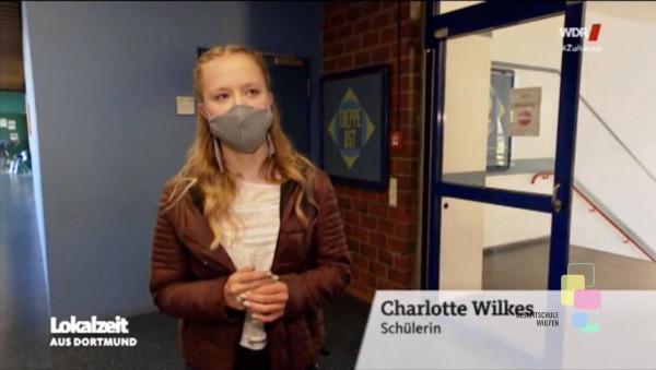 Schulstart nach Lockdown an der GSW – WDR