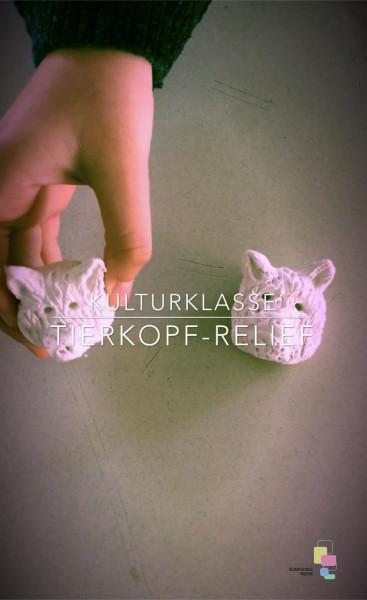 Kulturklasse | Tierkopf-Relief
